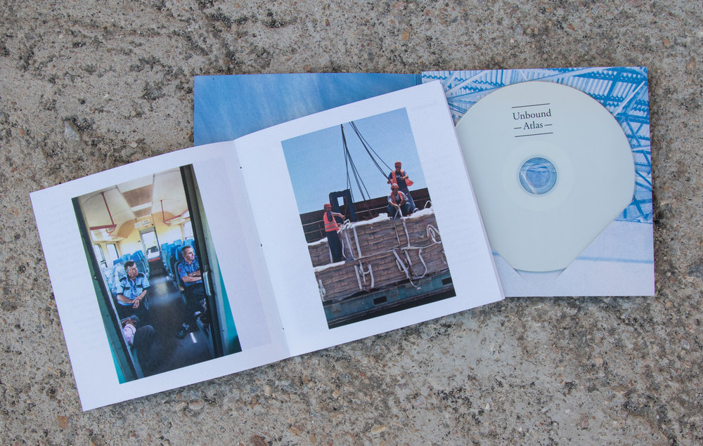 Mazi Collective (the working collective of Ramona Stout and Alyssa Moxley) released the album,  Unbound Atlas , collected field recordings, writing and images from Kinisi festival curatorial journeys.