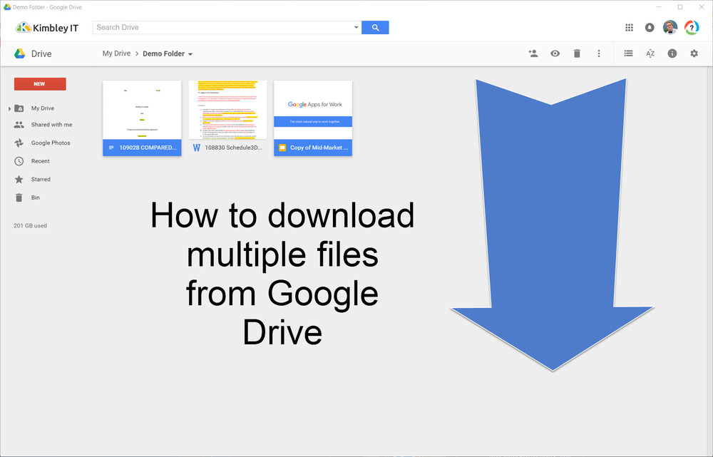 download zip file from google drive iphone