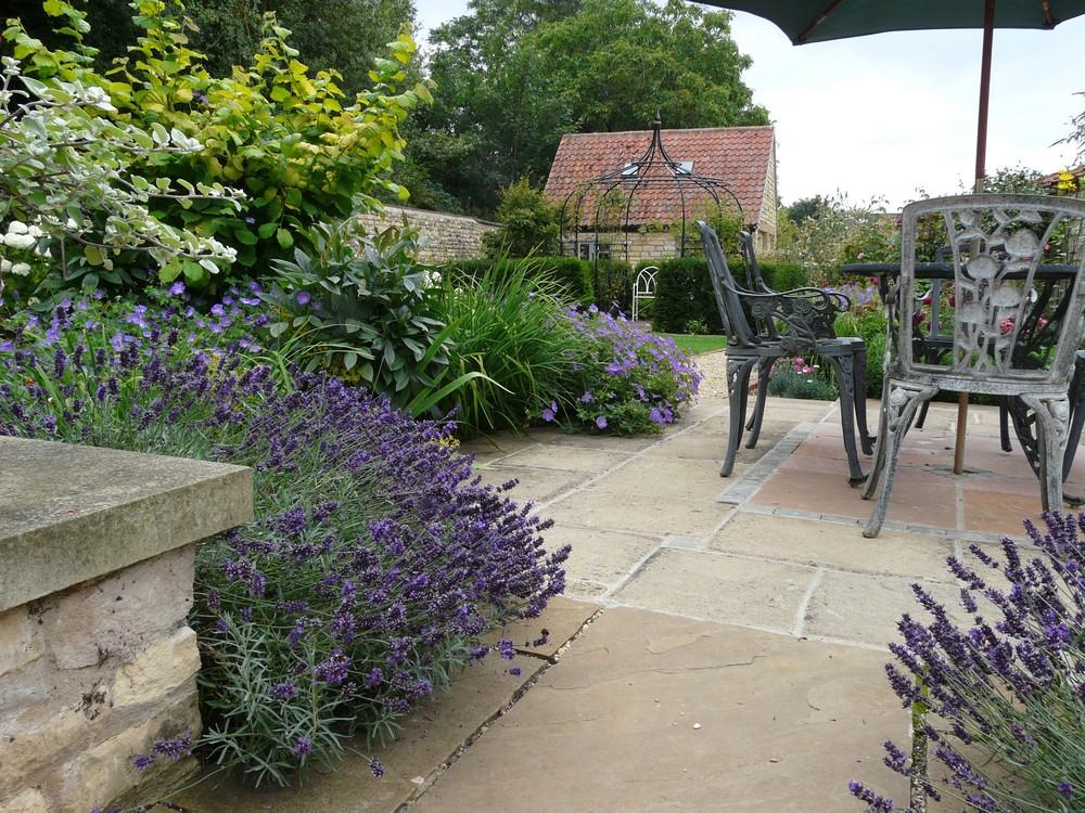 Terrace (2) in Fulbeck garden.jpg