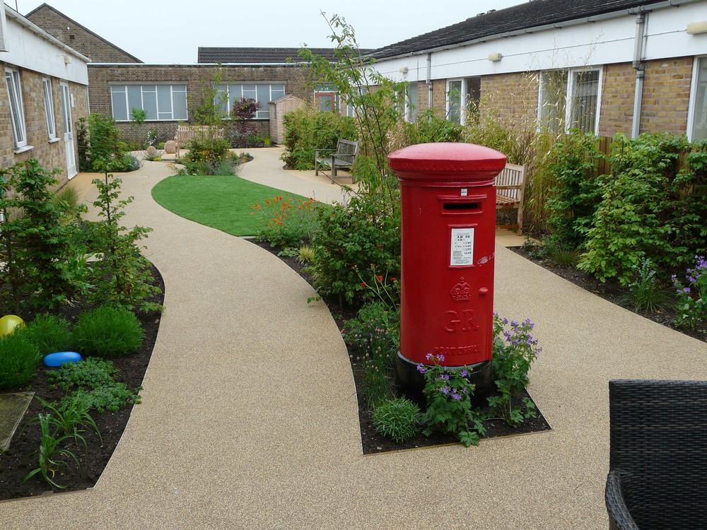 Letterbox in Dementia garden.jpg