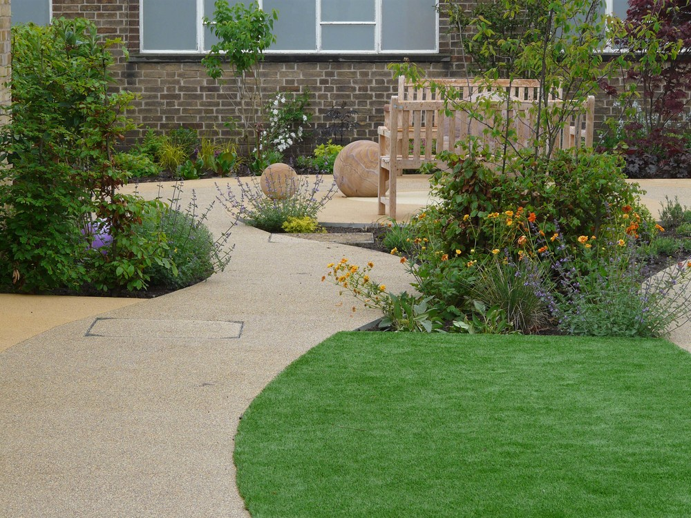 Benches in Dementia garden.jpg