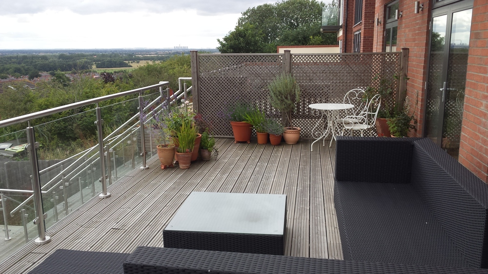 Roof top garden Lincoln