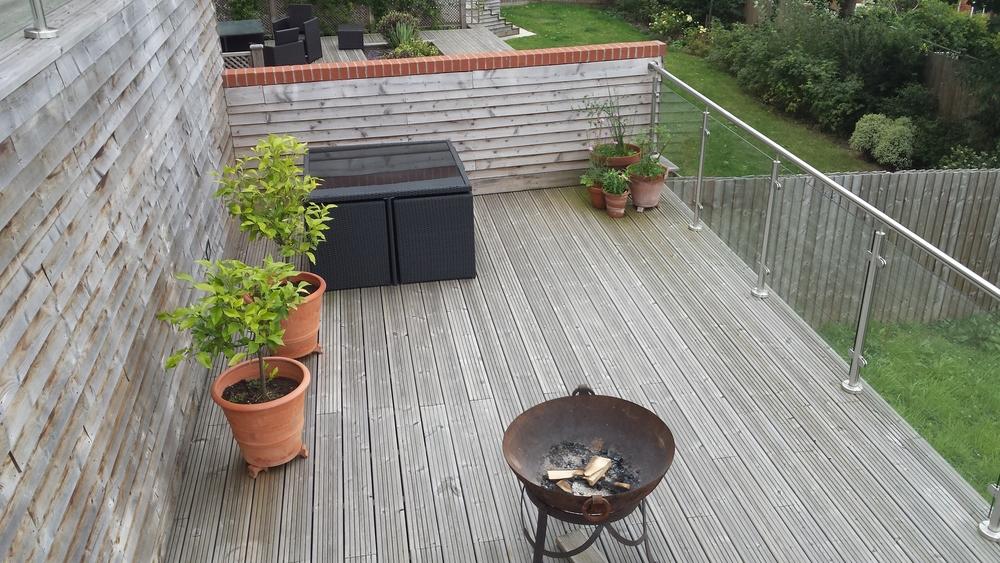 Rooftop garden Lincoln