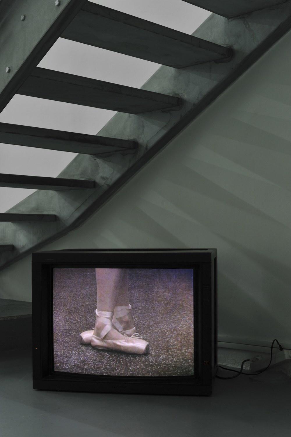 Gregor Hildebrandt, O.t (im Atelier Flur) 2011