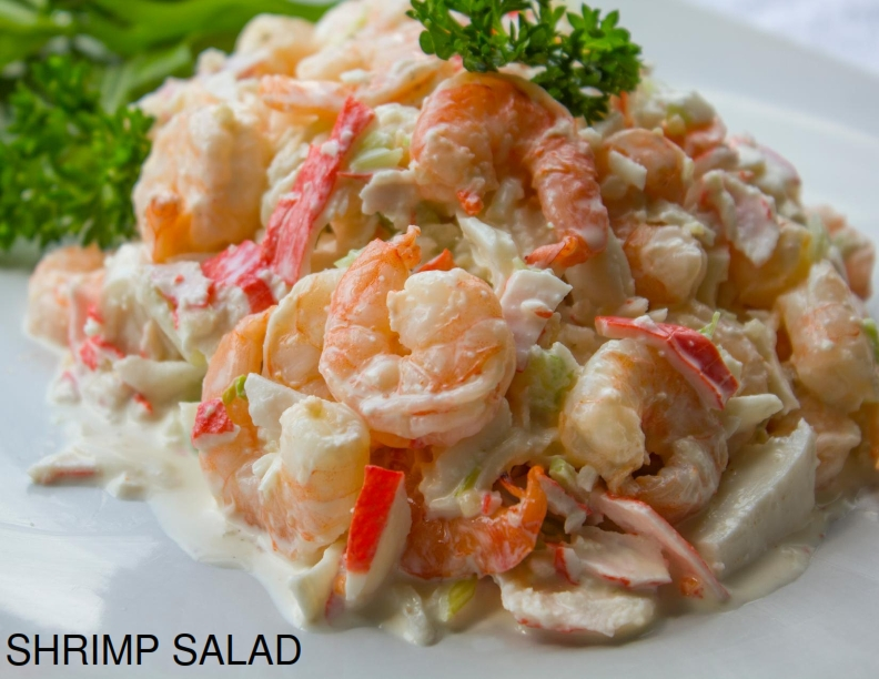 Main Ingredients: Shrimp, Surimi, Mayonnaise