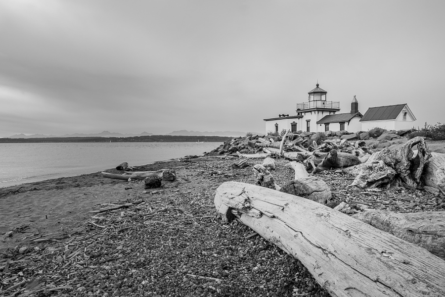 West point Lighthouse, Seattle WA