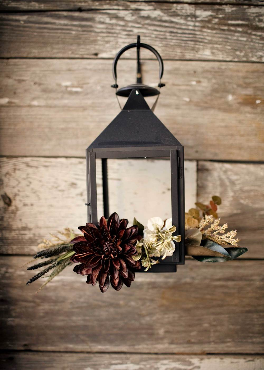 barn wood wall lanterns