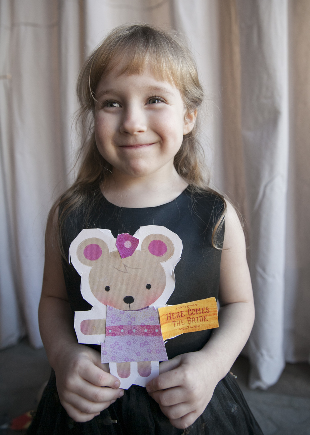 SO PROUD FOR WHAT SHE MADE! #SUITEHEARTSHOP #FLOWERGIRLPAPERDOLL