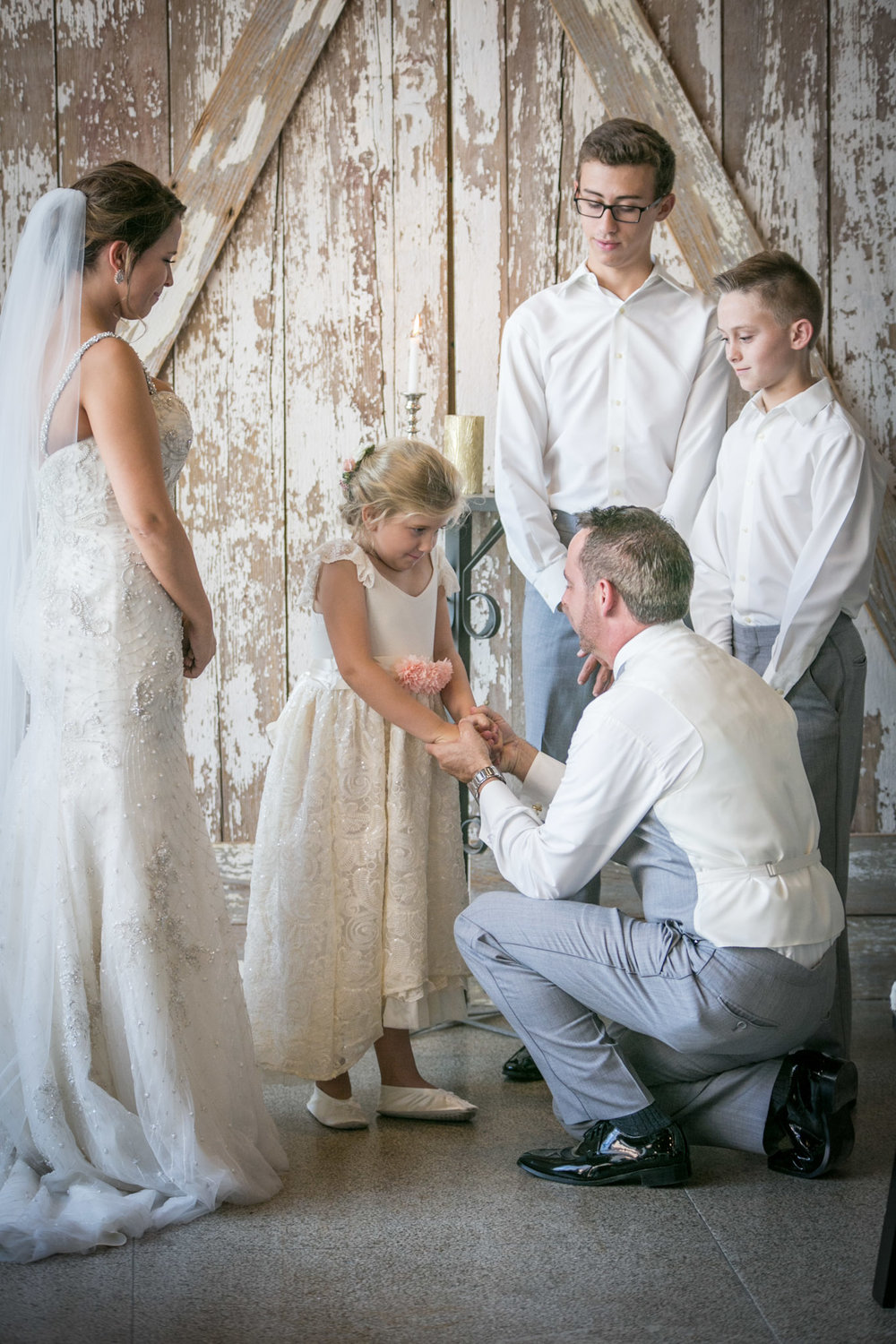 8. Vow of Parenthood - Also known as a Family Unity Ceremony, this is a special way to bring together your entire family and vow to love and support one another until the end of time.