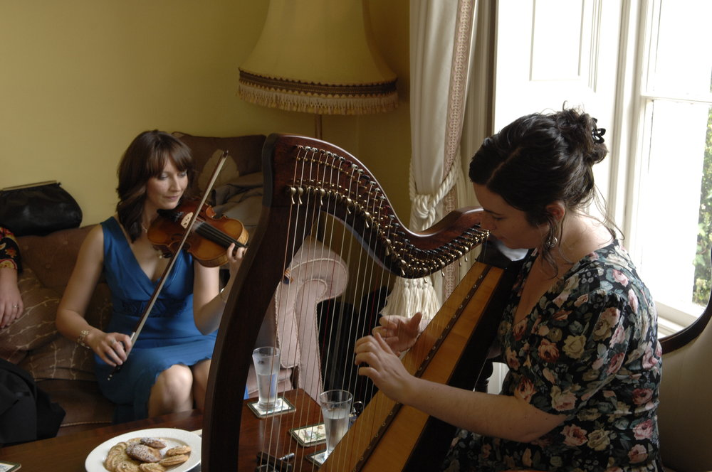 Arrival Music in the Drawing Room