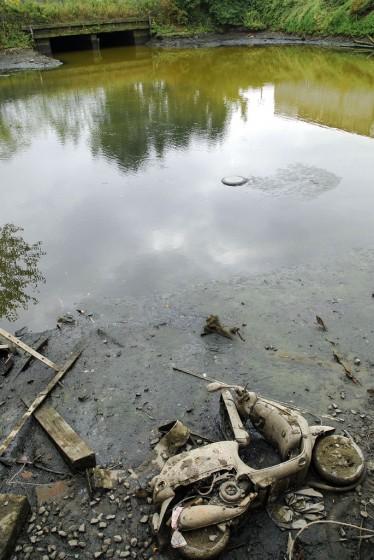 Surfaced in Newtown Creek