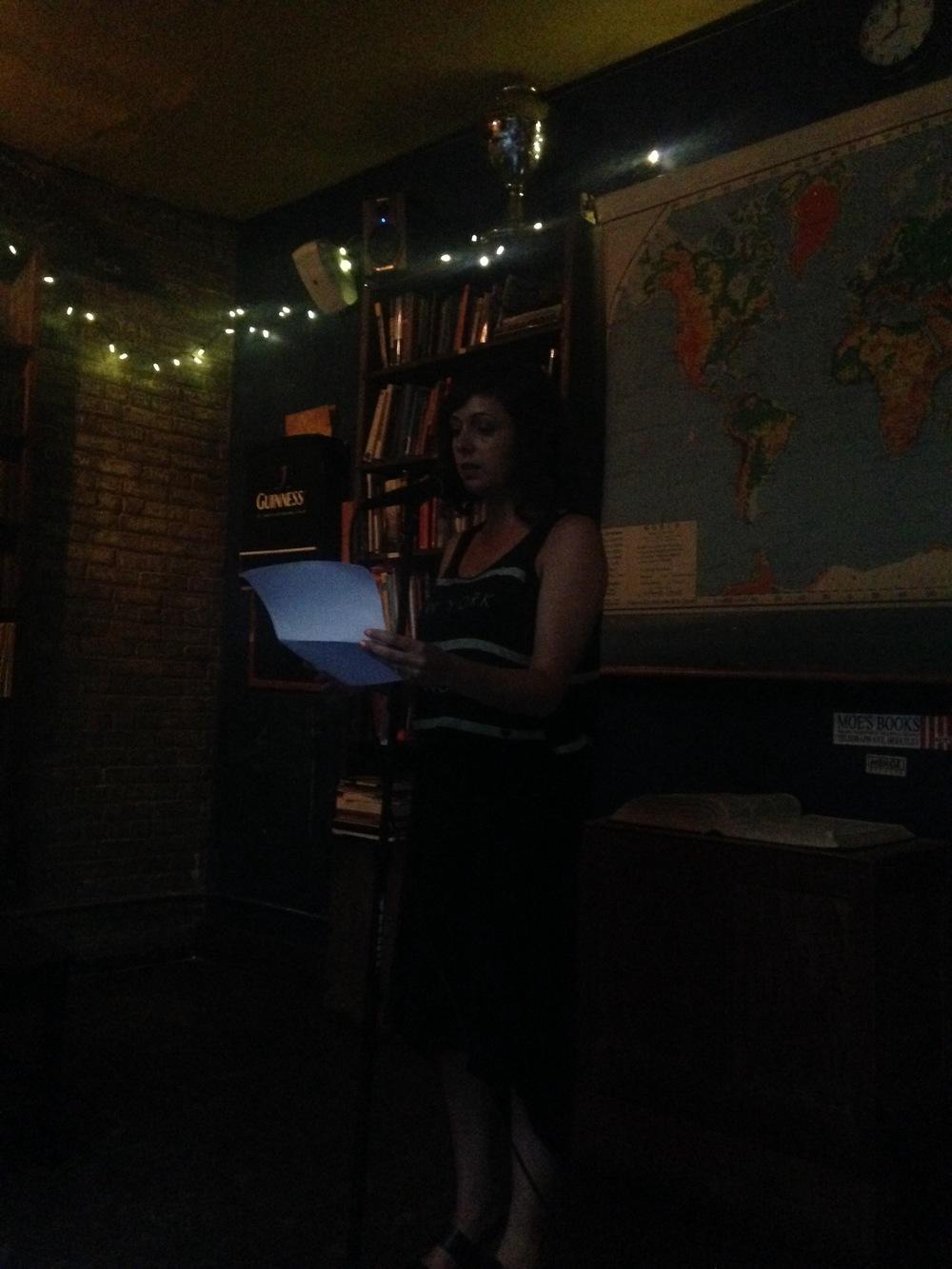 UNY Editor Nicole Haroutunian