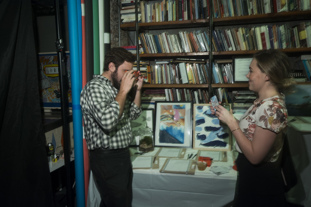 Viewmaster exhibit and silent auction items