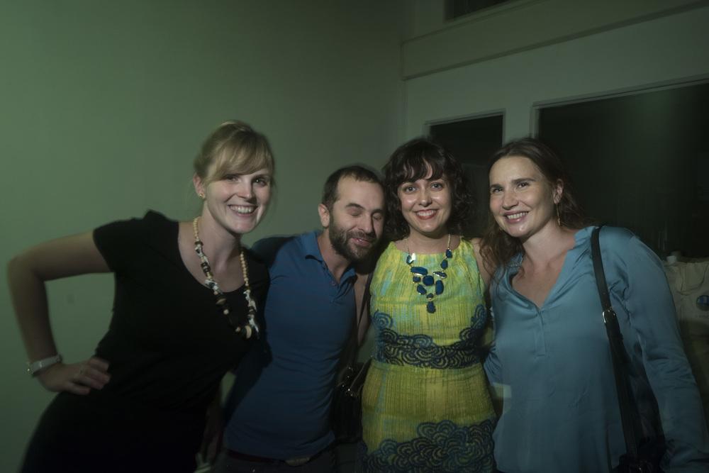 Rose Nestler, Dan Arlein, Nicole Haroutunian and Katherine Lewandowski