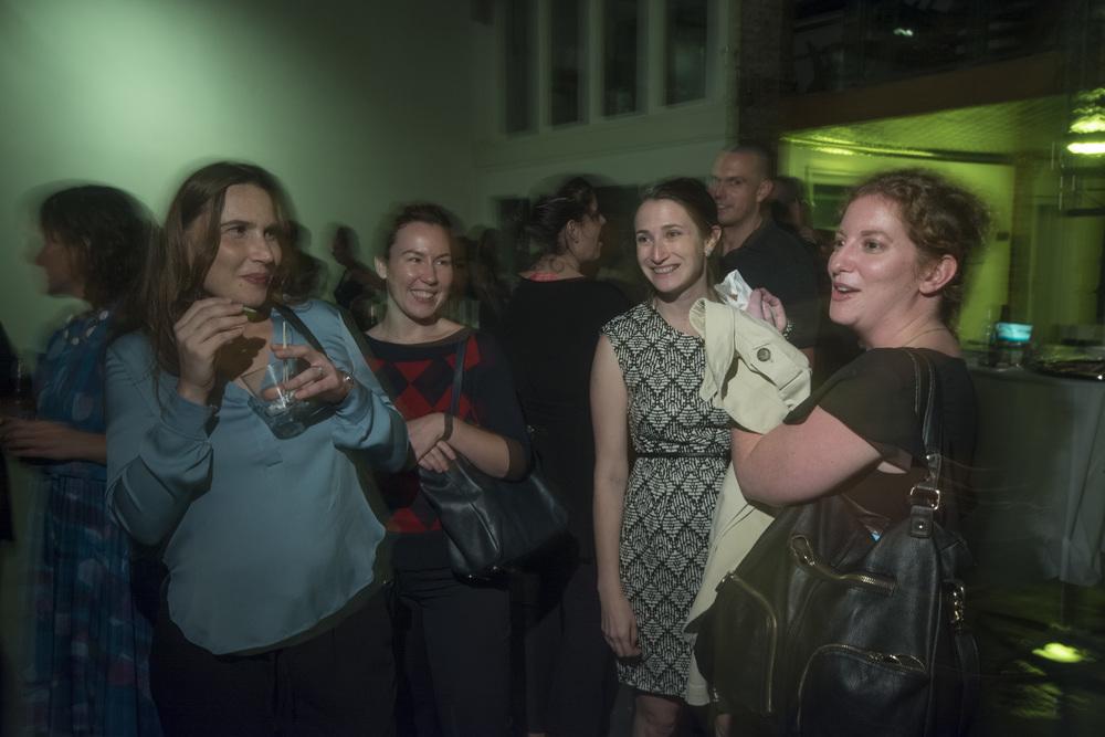 Katherine Lewandowski, Rhea KG, Trop editor Alyssa Vine and Miranda Appelbaum
