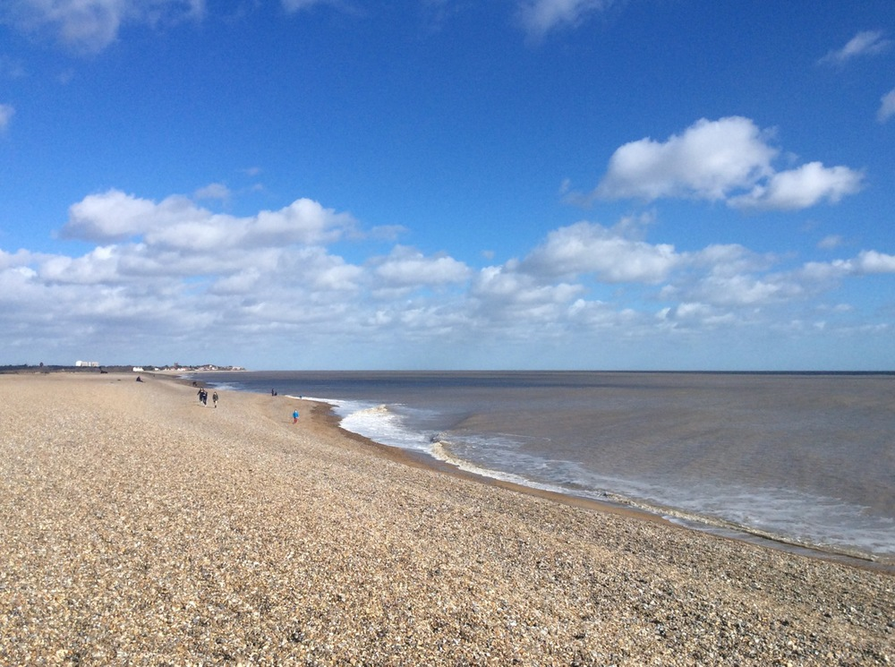 Aldeburgh Beach facing north, 1st march 2015.jpeg