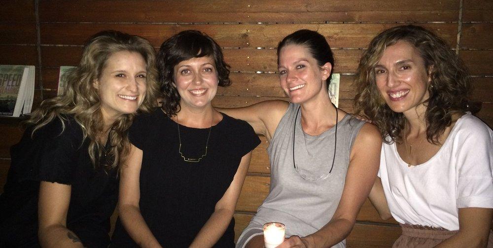 UNY Editors Nicole Miller, Nicole Haroutunian, Nicki Pombier Berger, and Helen Georgas / 2015