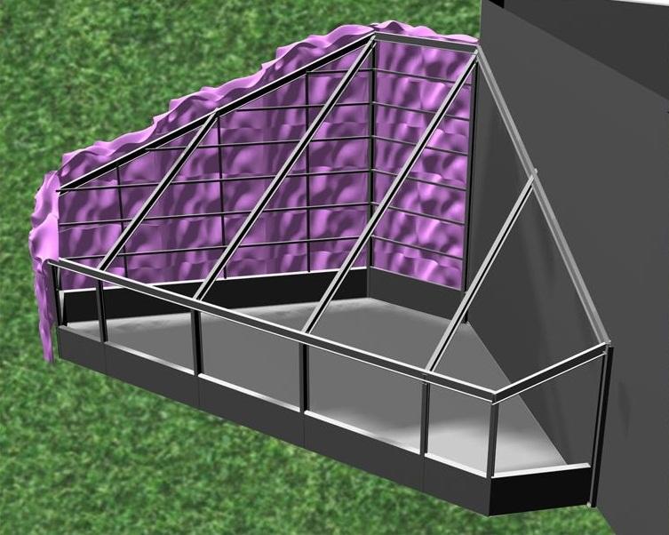 Structural Engineer - Rockey Structures  Artist - Christine Tarkowski  Architect - Urban Lab  Chicago Art Installation
