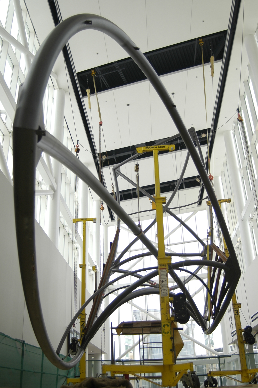 Structural Engineer - Rockey Structures  Artist - Sabrina Raaf  Chicago Art Installation