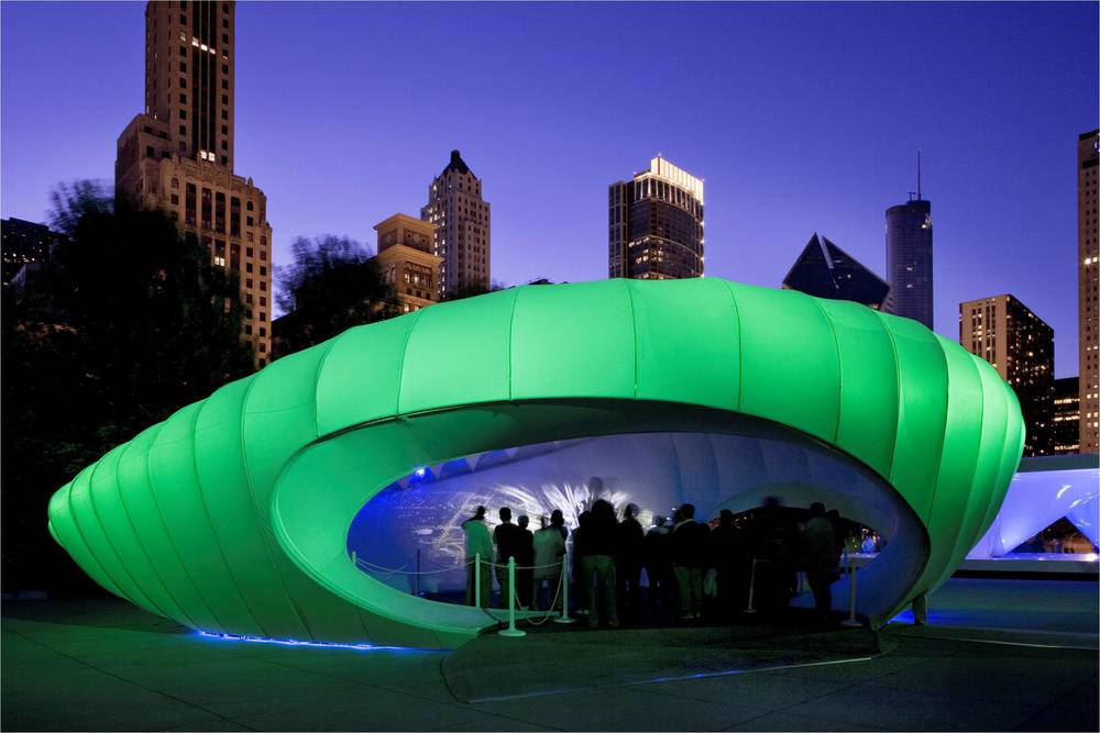 Structural Engineer - Rockey Structures  Design Architect - Zaha Hadid Architects  Architect of Record - Thomas A. Roszak  Chicago Art Installation