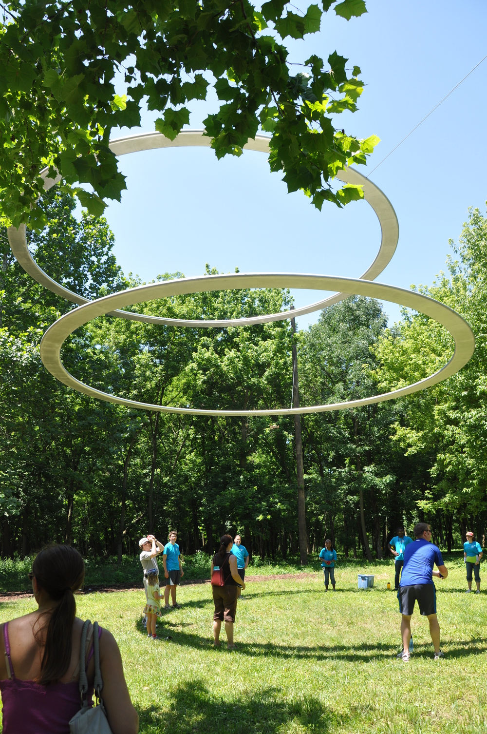 Structural Engineer - Rockey Structures  Artist - Type A  Indianapolis Art Installation