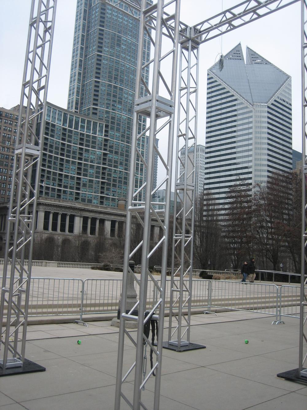 Structural Engineer - Rockey Structures  Artist - Luftwerk  Chicago Art Installation