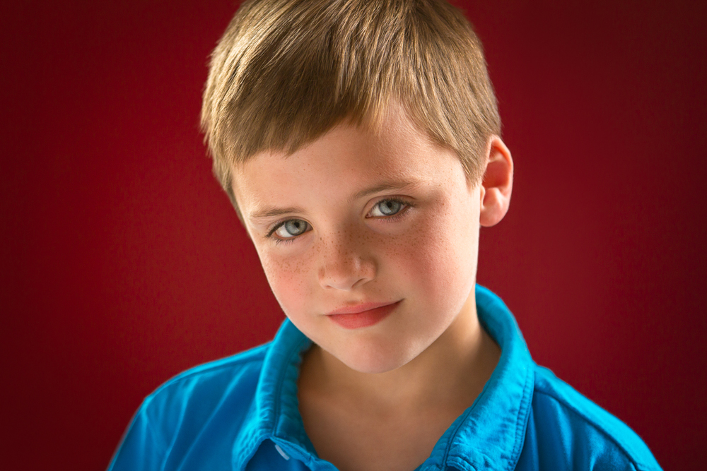 Kids Acting Headshots for Cameron shot by best Kids Headshot photographer in Boston Erica Derrickson