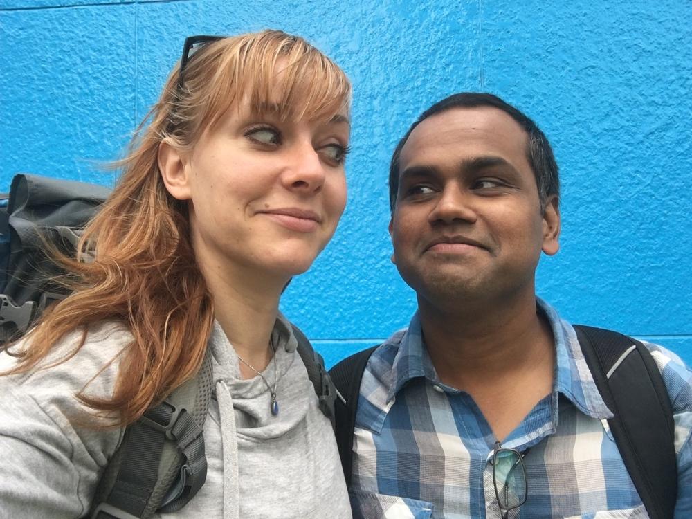 Me and Rajah