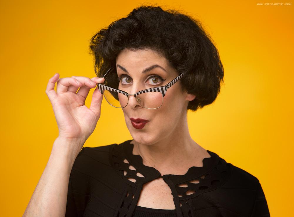 Linda Ann Eknoian, SAG-AFTRA Actress shot by best headshot photographer Erica Derrickson
