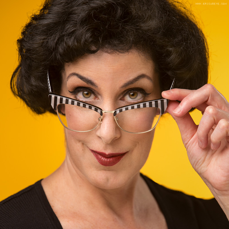 Acting headshot for SAG actress Linda Ann Eknoian by Best Boston Headshot Photographer Erica Derrickson