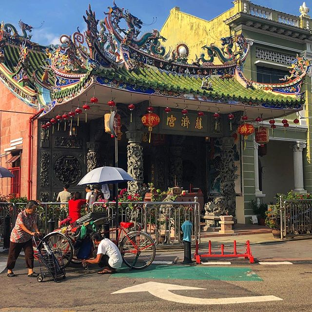 #Chinese #temple #Penang ⛩