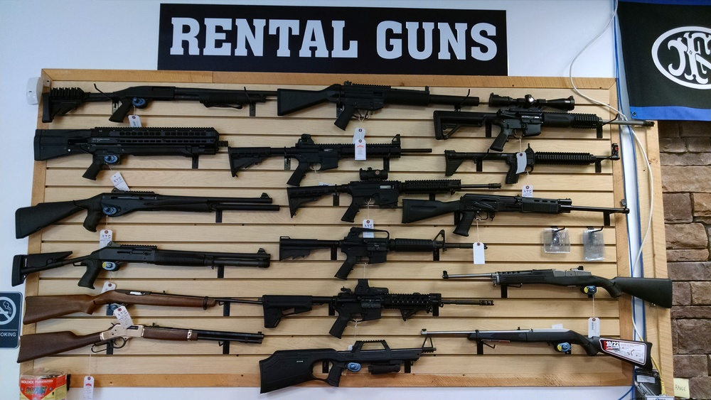 Rental Long Guns