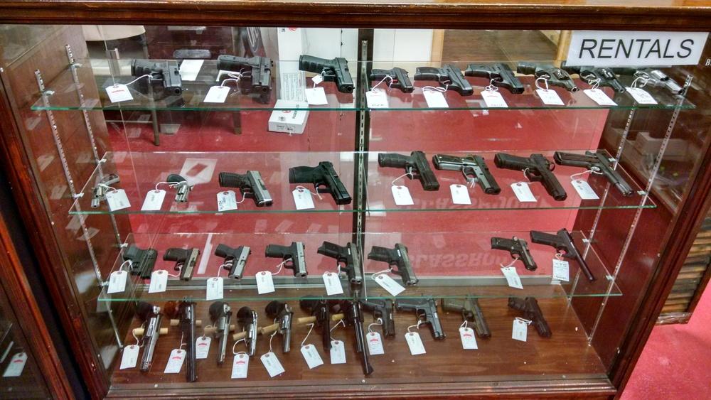 Rental Handguns