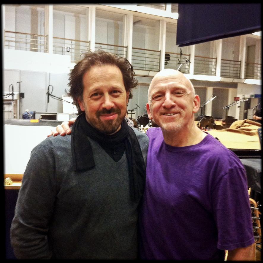 In the studio with Adam Nussbaum.