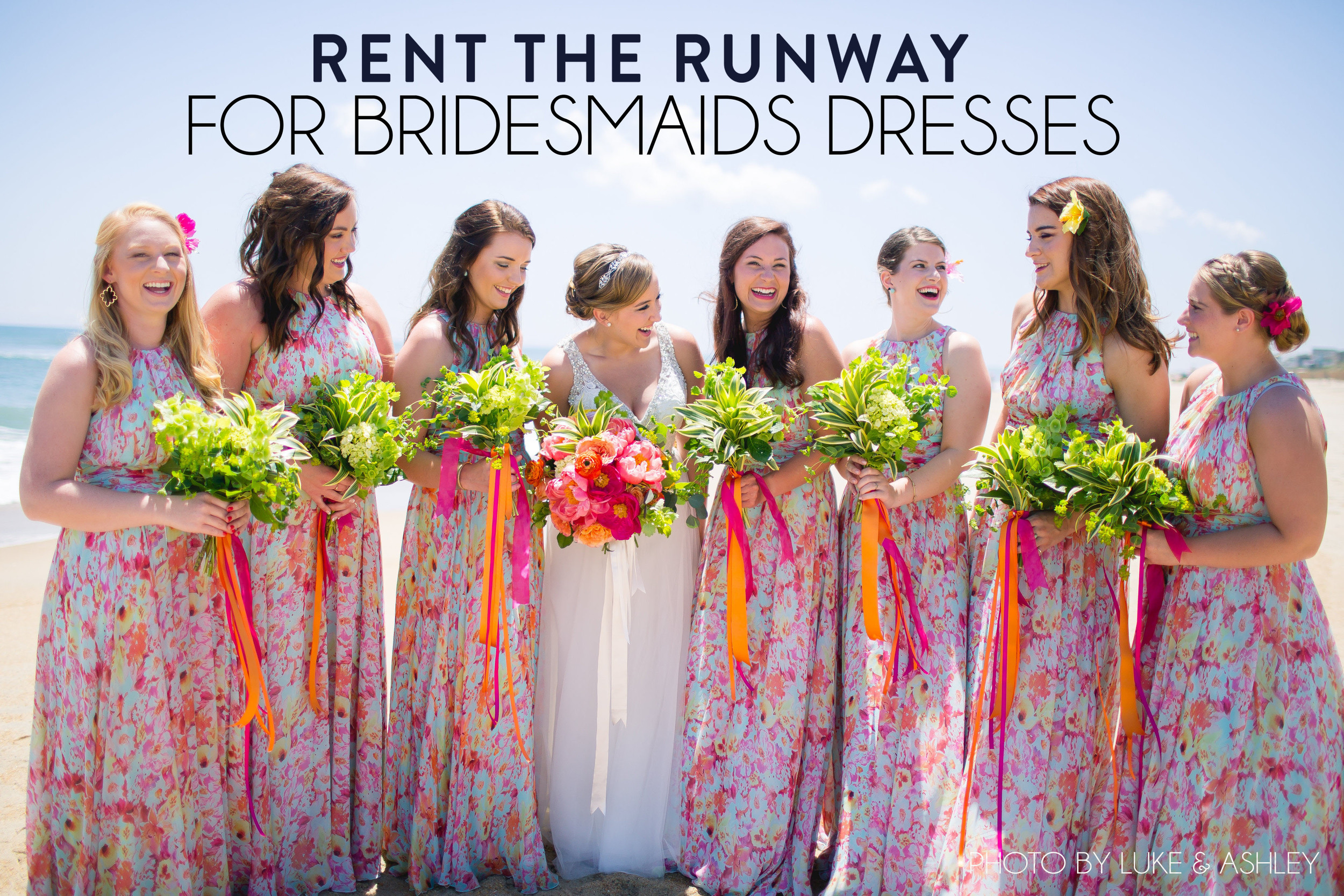 the Runway for Bridesmaids Dresses