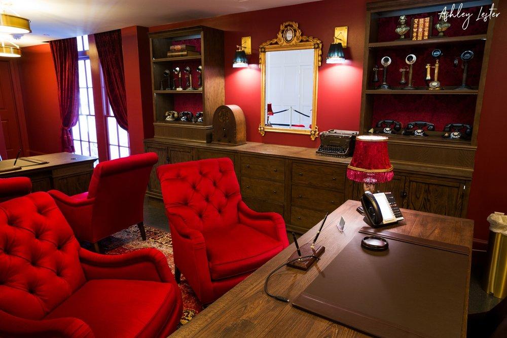 The Lobby | The Cavalier Hotel in Virginia Beach