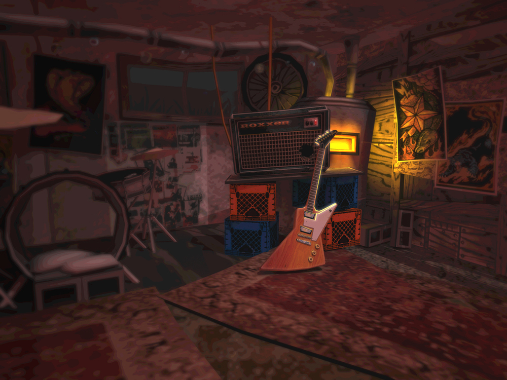 Guitar Hero Basement Venue