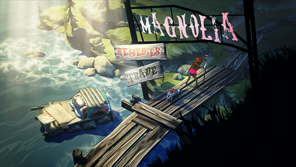 Magnolia Station Dock / Disembark