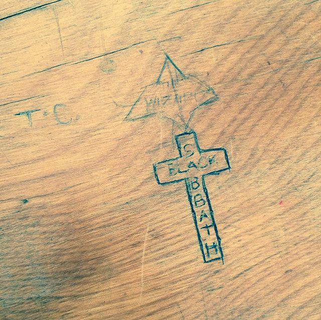 Brimfield school desk