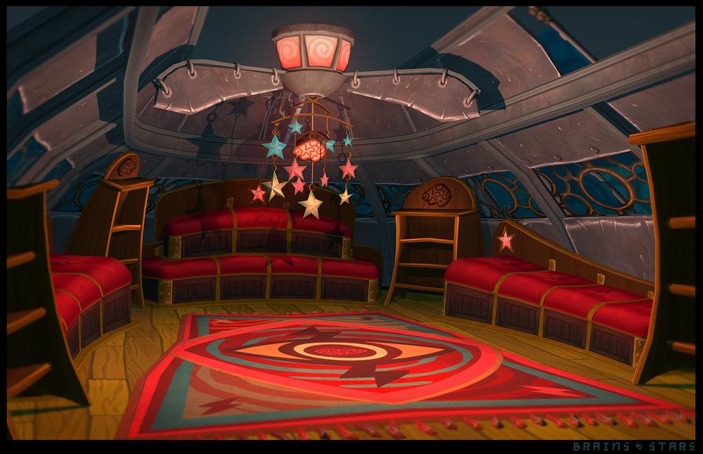 Psychonauts 2 Prototype - Treehouse Interior