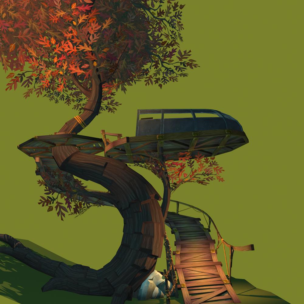Psychonauts2 Prototype - Treehouse Process