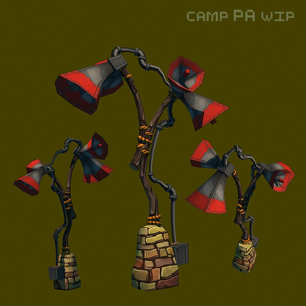 Psychonauts2 Prototype - Camp PA System