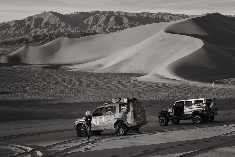 Fuji Pro-2 with 35mm Fujinon Lens - Rebelle Rally - Dumont Dunes, California