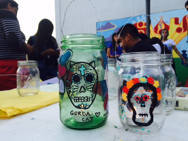 had a great time making lanterns with the save our youth center in Costa mesa !