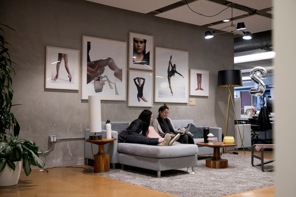 Throughout the process, I made sure that the entire office design system worked with existing elements - such as partnering with designer Chi Thorsen to integrate photographic layouts.