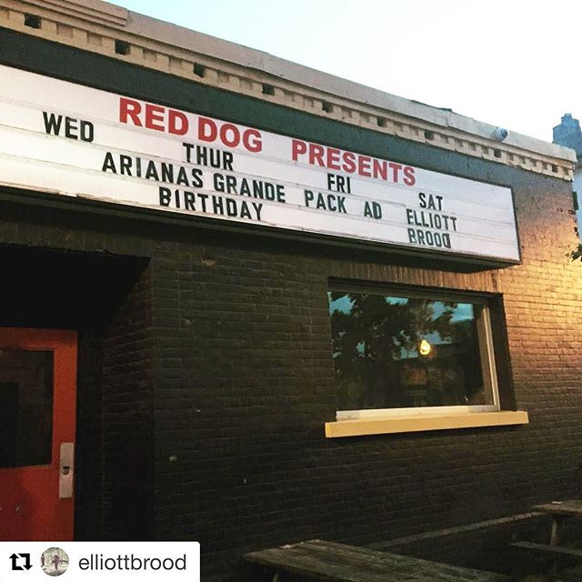 We're in Peterborough tonight with @elliottbrood  #Repost  We play tonight @historicreddog in #peterboroughcanada #peterbrough With our goodtime pals @oddyears 🚪Doors at 9pm Come early drink and dance much!!!