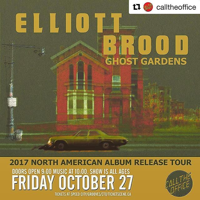 #Repost @calltheoffice ・・・ @elliottbrood this Friday with @oddyears  tix @speedcityrecords @groovesrecords or online at ticketscene. We're stoked! #supportlivemusic  #ldnont #ldnevnt
