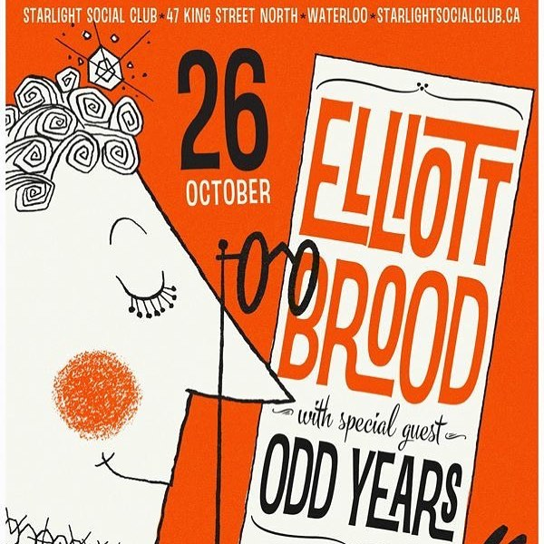 Excited to be supporting @elliottbrood this Thursday at @starlightsocialclub in Waterloo. Tickets are still available!