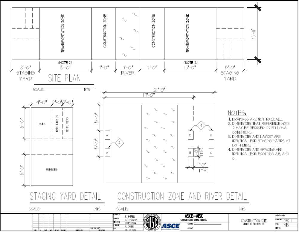 2016-2017Onsite Fabrication Specifications