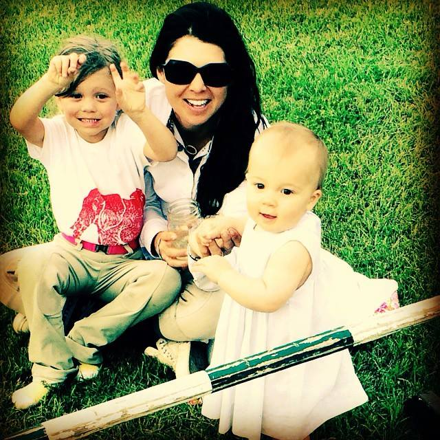 Liza Boyd celebrated her birthday at Aiken with daughters Elle and Adeline.